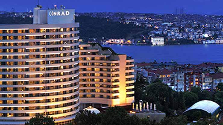 Conrad Istanbul Bosphorus Hotel Airport Transfer
